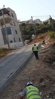 بلدية رام الله تشرع في تأهيل حي باطن الهواء