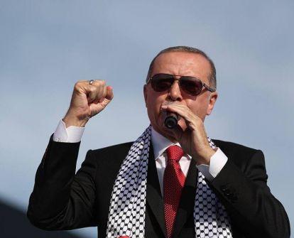 أردوغان: ما تقوم به إسرائيل بحقّ الفلسطينيين قطعٌ للطرق ووحشية.. وبصراحة أقول: المسلمون لا يتحلون بالشجاعة أمام خصومهم