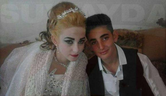 «صور» موجة غضب بعد زواج طفلين لا يتجاوزان '14 عاماً' في سوريا!