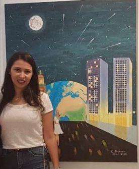 ولادة أول معرض فردي للفنانة التشكيلية لبنى بنرابح .. عبد المجيد رشيدي