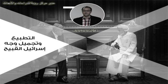 التطبيع وتجميل وجه إسرائيل القبيح  ....د . وسيم وني