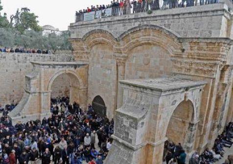 التلفزيون الاسرائيلي : مصلى باب الرحمة سيغلق لأشهر ويحول لمكاتب