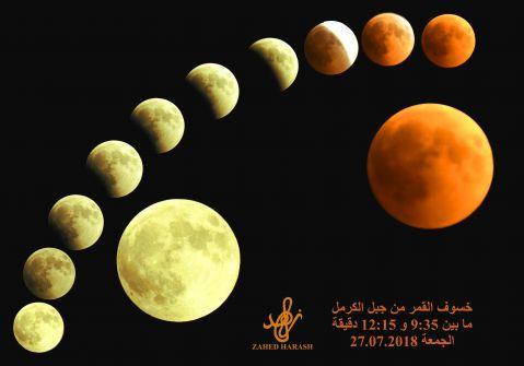 خسوف القمر....زاهد عزَّت حَرَش