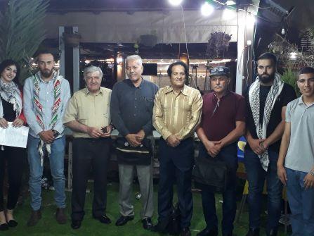 طلّاب جامعة 'جنين العربيّة الأميركيّة' يستضيفون الاتّحاد القطريّ للأدباء الفلسطينيّين – الكرمل