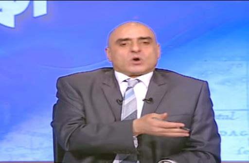 'شاهد' اعلامي مصري يهاجم الفلسطينيين ويصفهم بـ'الأنجاس' !