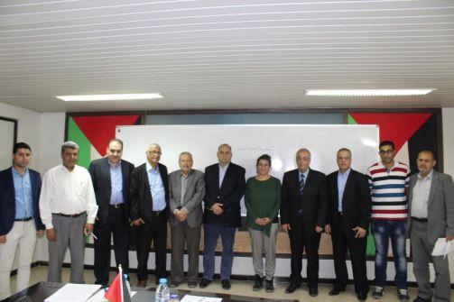 غرفة تجارة وصناعة محافظة غزة توقع إتفاقية مع مؤسسة الإيديوكيد