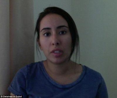 """سُجنت 3 سنوات سراً وتعرّضت للتخدّير.. """"شاهد"""" ابنة حاكم دبي تهرب بمساعدة جاسوس فرنسي وتروي التفاصيل"""