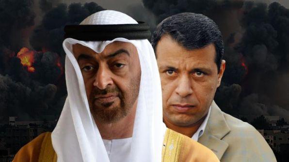 """صحيفة فرنسية تكشف دور الإمارات في دعم """"دحلان"""" بالمال والسلاح لتخريب المنطقة"""