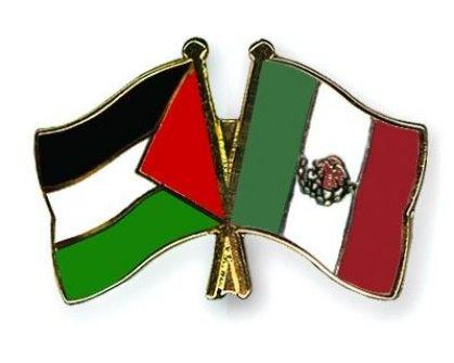 منح وسام النسر الاستيكي لسفيرة فلسطين لدى المكسيك
