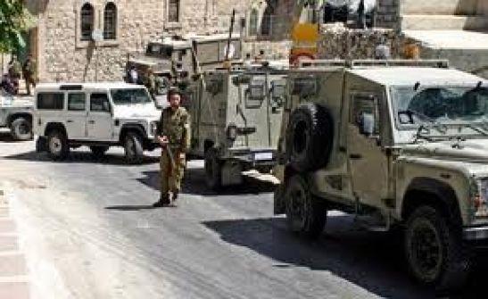 الاحتلال يجري مناورات عسكرية في مريحة غرب يعبد ويحتجز مركبات