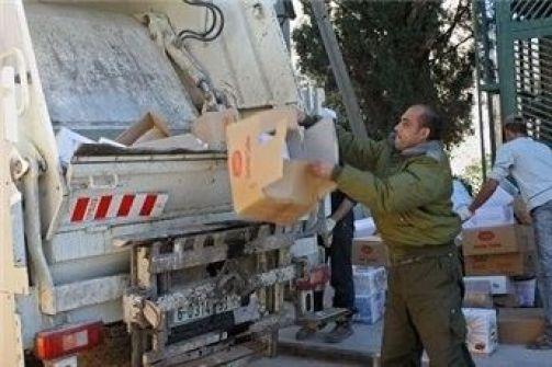 بيت لحم: اتلاف 12 طنا من منتجات الألبان والسلطات في إحدى الشركات