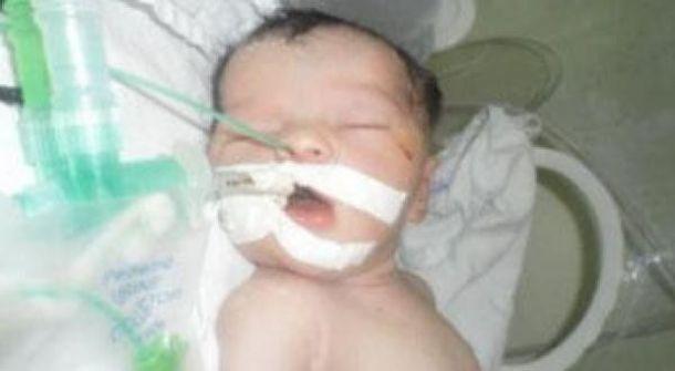 وفاة الرضيعة شيماء في غزة
