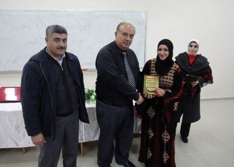 الجامعة العربية الامريكية تكرم أوائل طلبتها في قسم التمريض