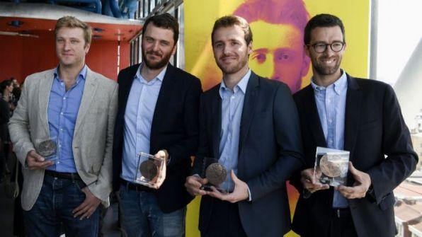 صامويل فوراي صحفي فرنسي أصيب في الموصل يحصل على جائزة ألبرت-لوندر