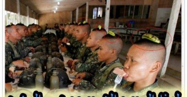 هل تعلم لماذا يضع الجنود الصينيون 'موزة' فوق رؤوسهم ؟؟