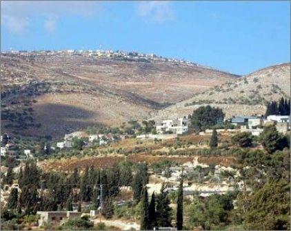 الاحتلال يستولي على 675 دونماً من أراضي جنوب شرق نابلس