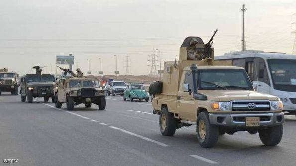 مقتل 6 مسلحين إرهابيين في سيناء