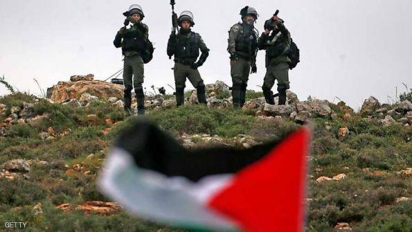 الاحتلال يقمع مسيرة يوم الارض على حاجز بيت ايل