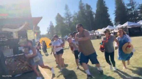 شاهد: قتلى وجرحى جراء إطلاق نار في مهرجان للطعام بولاية كاليفورنيا الأمريكية