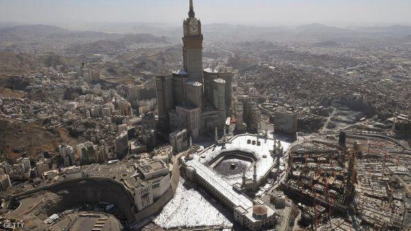 صوره..السلطات السعودية تعلن  إحباط هجوم في الحرم المكي