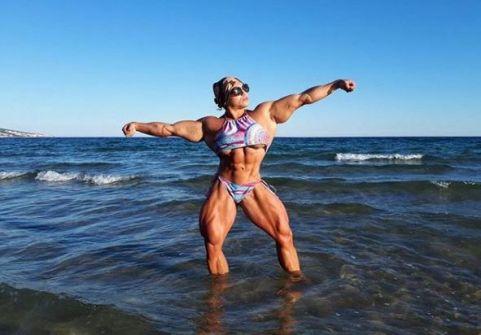 بالصور: من هي امرأة جبل أقوى امرأة في العالم..؟