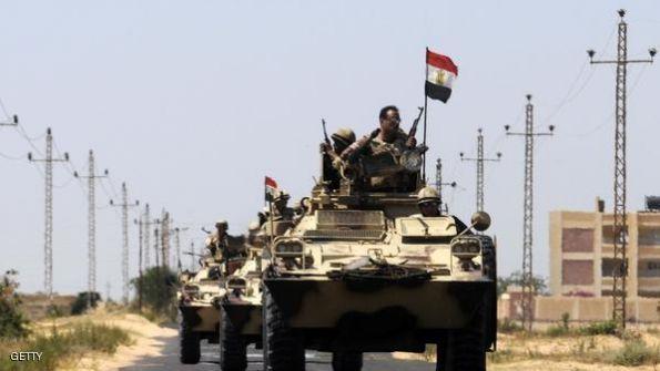 مصر.. مقتل عشرات المتشددين شمالي سيناء