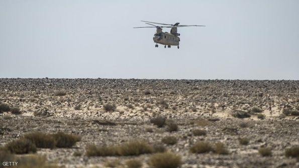 غارة للجيش المصري تقتل 5 مسلحين في سيناء