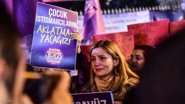 احتجاجات في تركيا ضد قانون «الزواج بالمغتصبة»