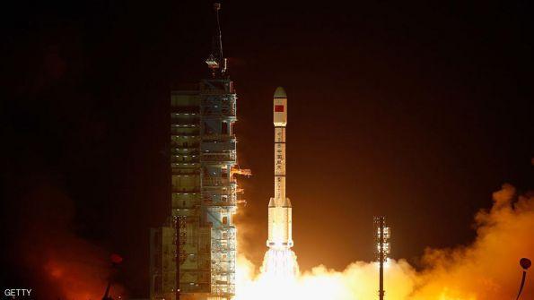 أول مركبة شحن صينية إلى الفضاء
