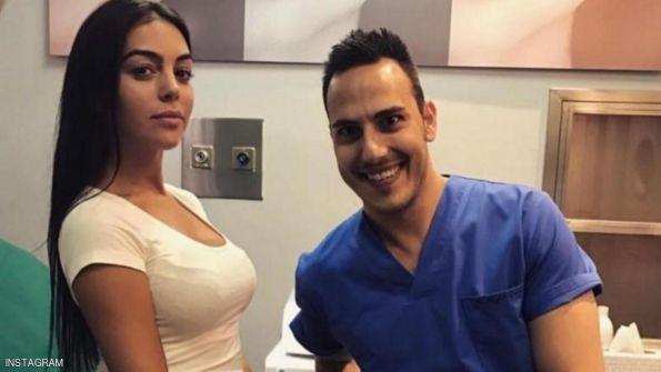 صديقة رونالدو تثير 'عاصفة' بعد 'صورة الطبيب'