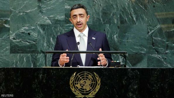 الامارات: المنطقة تعاني الإرهاب المدفوع من أنظمة