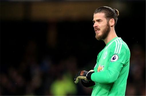 صوره: دي خيا لاعب الموسم في مانشستر يونايتد