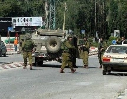 قوات الاحتلال تعتقل مواطنا من بلدة إذنا
