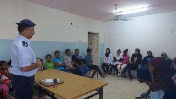 الشرطة تطلق برنامجا للتدريب المتقدم للمشاركات في جمعية المرأة في محافظة اريحا