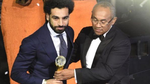 محمد صلاح يفوز بالكرة الذهبية الأفريقية للعام الثاني على التوالي