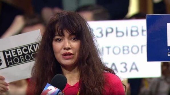 صحفية روسية تفقد وظيفتها بعد طرحها سؤالا على بوتين