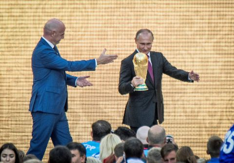 14 زعيم دولة يحضرون نهائي كأس العالم مع بوتين
