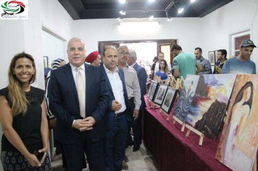 بازار ومعرض جاليري إطلالة اللويبدة همسات ...وعدسة: زياد جيوسي