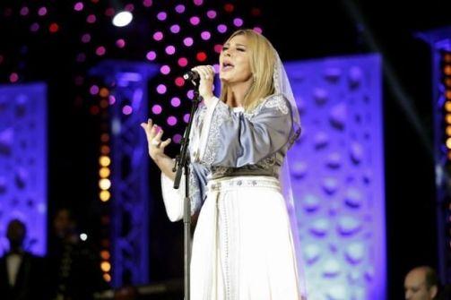 أصالة تبكي على مسرح الموازين وتتذكر حبيبها المغربي