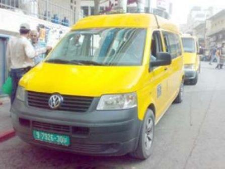 مركبات تطلق أبواقها في شوارع الخليل احتجاجا على الغلاء