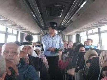 الشرطة سفر 25 ألف مواطن تقبض على 21 مطلوبا على معبر الكرامة