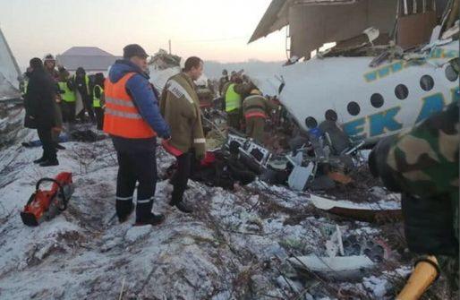 ارتفاع عدد ضحايا الطائرة الكازاخستانية إلى 14 قتيلاً بينهم أطفال