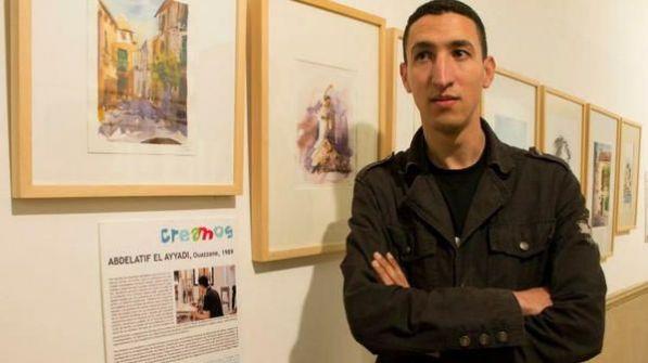 فنان مغربي يخطط لدخول كتاب غينيس بأكبر بورتريه