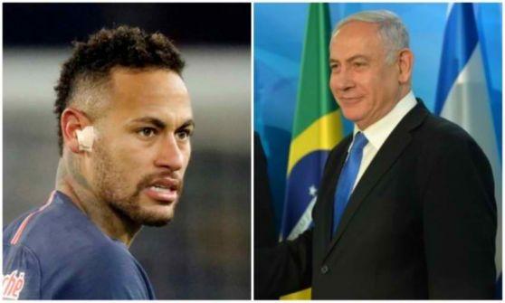 بالفيديو- النجم البرازيلي نيمار يرد على دعوة نتنياهو ويوافق على زيارة إسرائيل