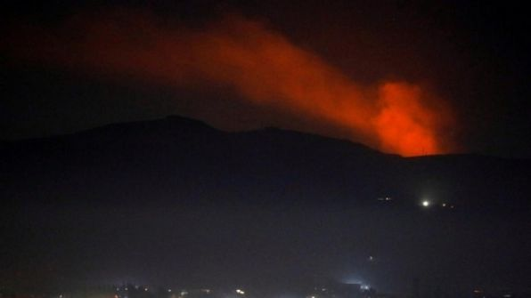 وسائل اعلام سورية: طيران الاحتلال الاسرائيلي قصف موقعًا عسكريًا في مصياف