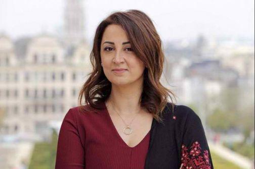 ليلى وافي اول فلسطينية تترشح للبرلمان البلجيكي