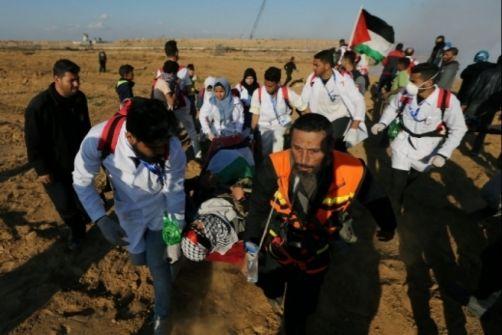 غزة: 33 إصابة في مسيرات العودة ضمن جمعة الأسير الفلسطيني