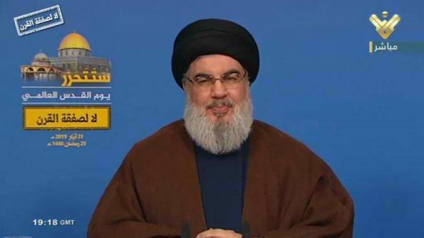 نصر الله: أي حرب على ايران ستشعل المنطقة بأكملها وستدفع اسرائيل والسعودية الثمن