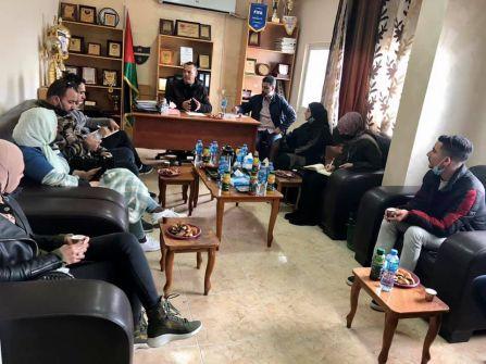 'شباب الجلزون' و'الحلم الفلسطيني' يبحثون تنفيذ شراكة في القطاعات الثقافية والاجتماعية والتطوعية