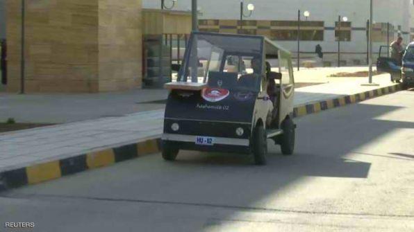 الاردن:طلبة في الجامعة الهاشمية يطورون سيارة تعمل بالطاقة الشمسية